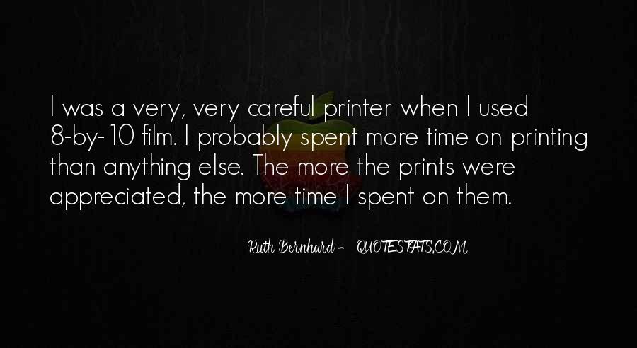 Ruth Bernhard Quotes #1544934