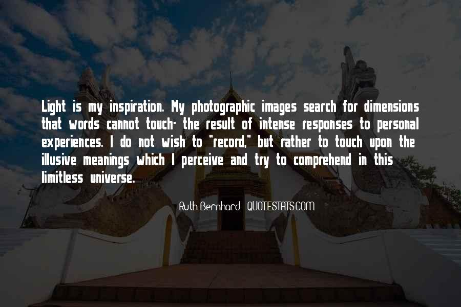 Ruth Bernhard Quotes #1834320