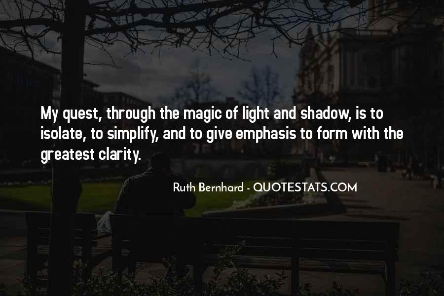 Ruth Bernhard Quotes #198040