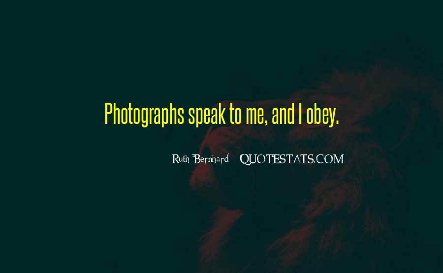 Ruth Bernhard Quotes #989897