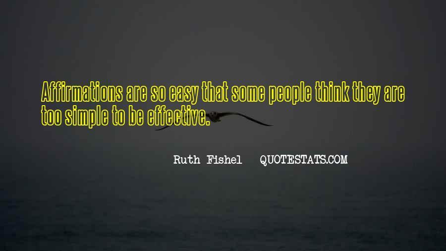 Ruth Fishel Quotes #833991
