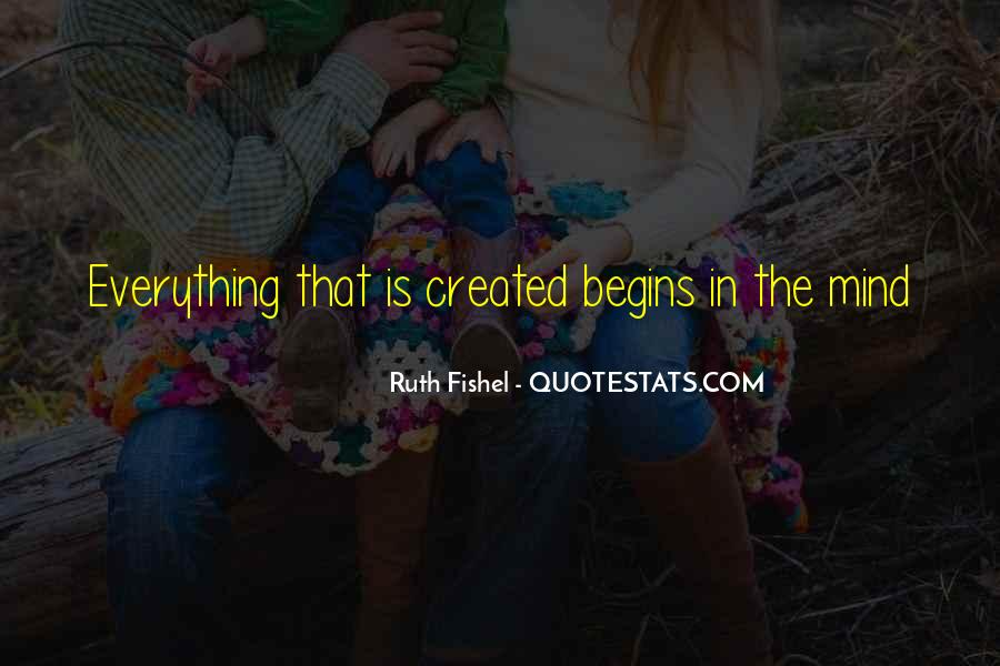 Ruth Fishel Quotes #870017