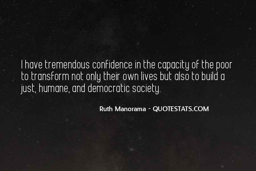 Ruth Manorama Quotes #1608065