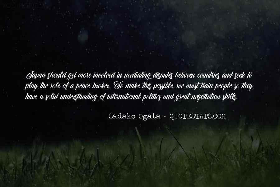 Sadako Ogata Quotes #1360179