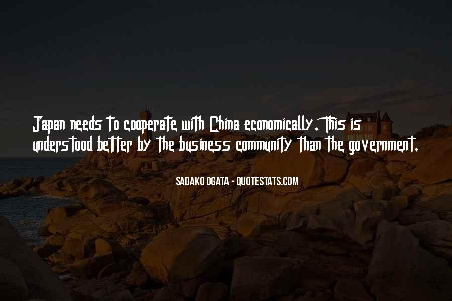 Sadako Ogata Quotes #457895