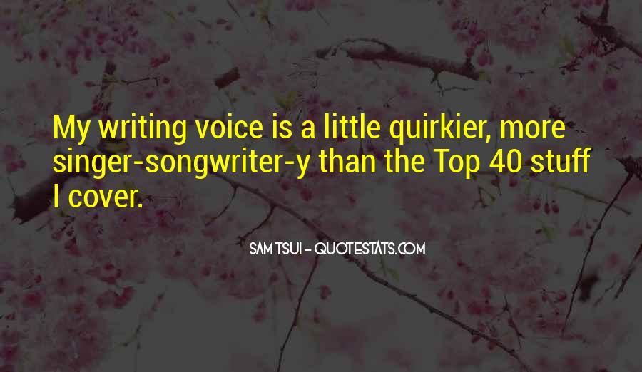 Sam Tsui Quotes #185460