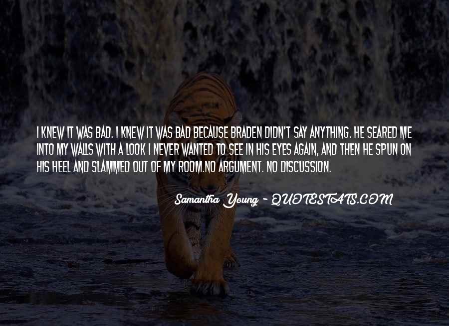 Samantha Young Quotes #105820