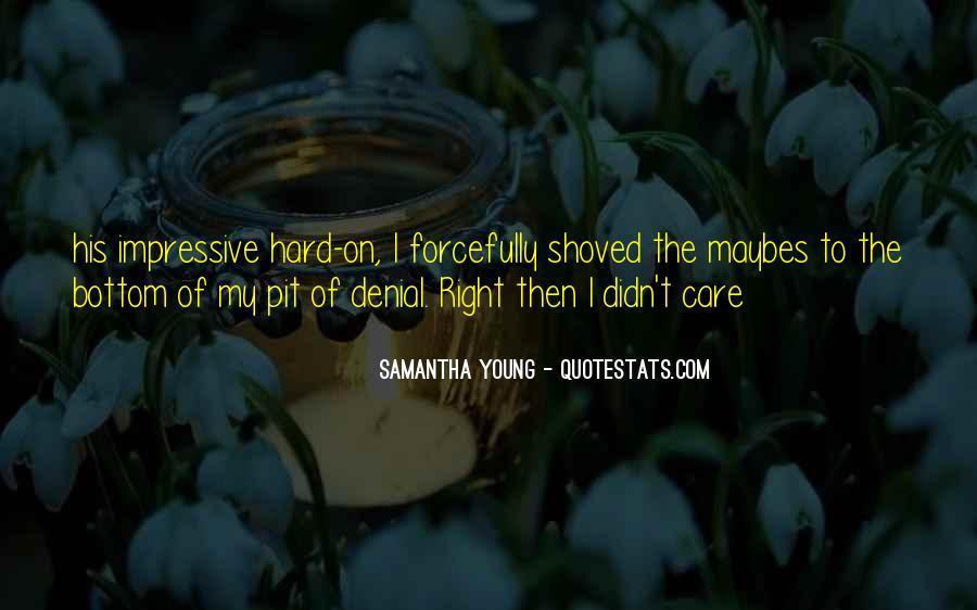 Samantha Young Quotes #117687