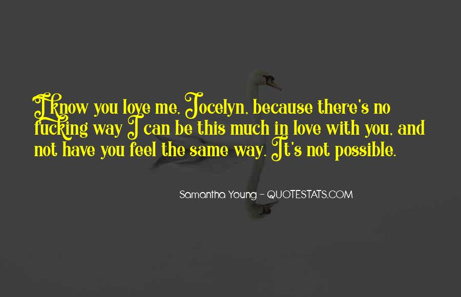 Samantha Young Quotes #268543