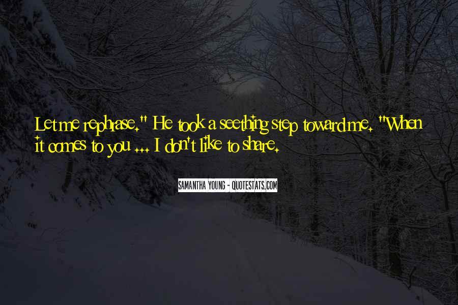 Samantha Young Quotes #273349