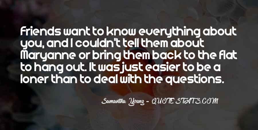 Samantha Young Quotes #404454