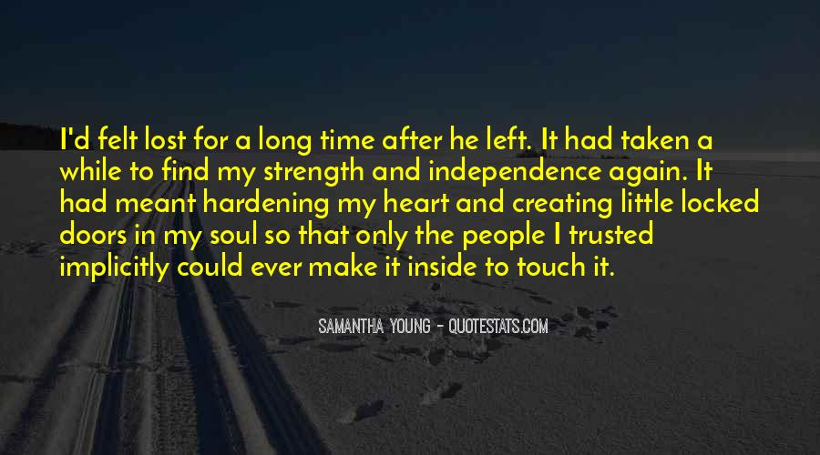 Samantha Young Quotes #480327