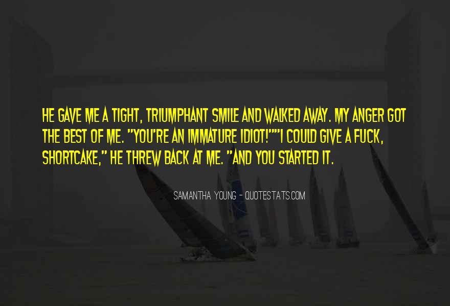Samantha Young Quotes #481285