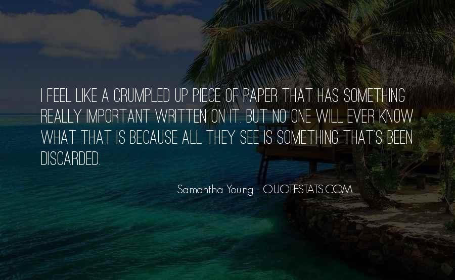 Samantha Young Quotes #486614