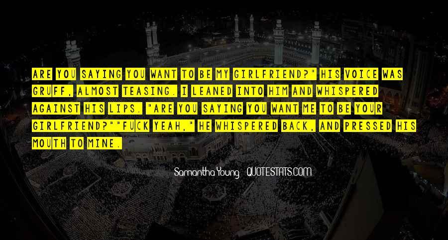 Samantha Young Quotes #71025