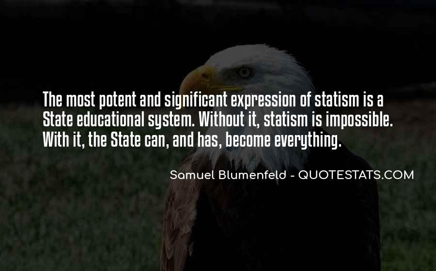 Samuel Blumenfeld Quotes #190225