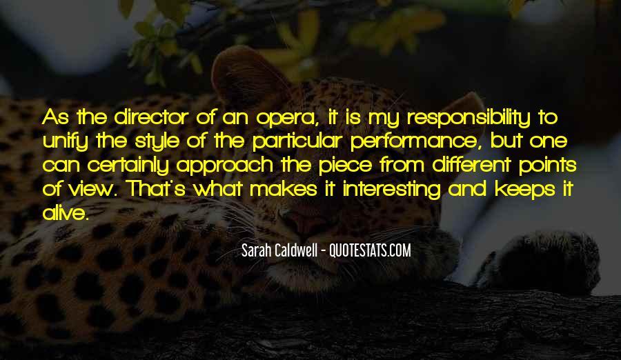 Sarah Caldwell Quotes #1296033