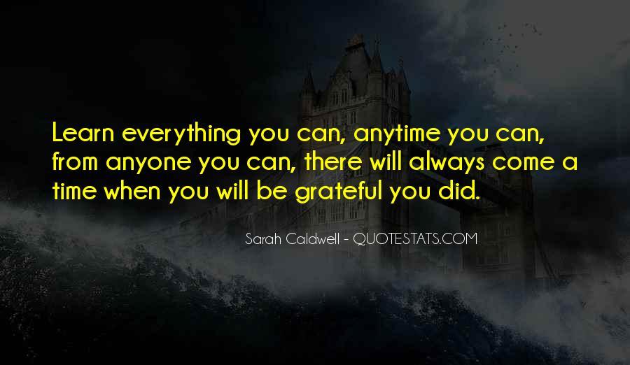 Sarah Caldwell Quotes #136277
