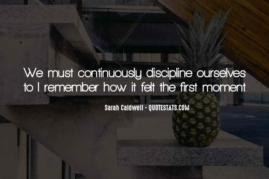 Sarah Caldwell Quotes #40194