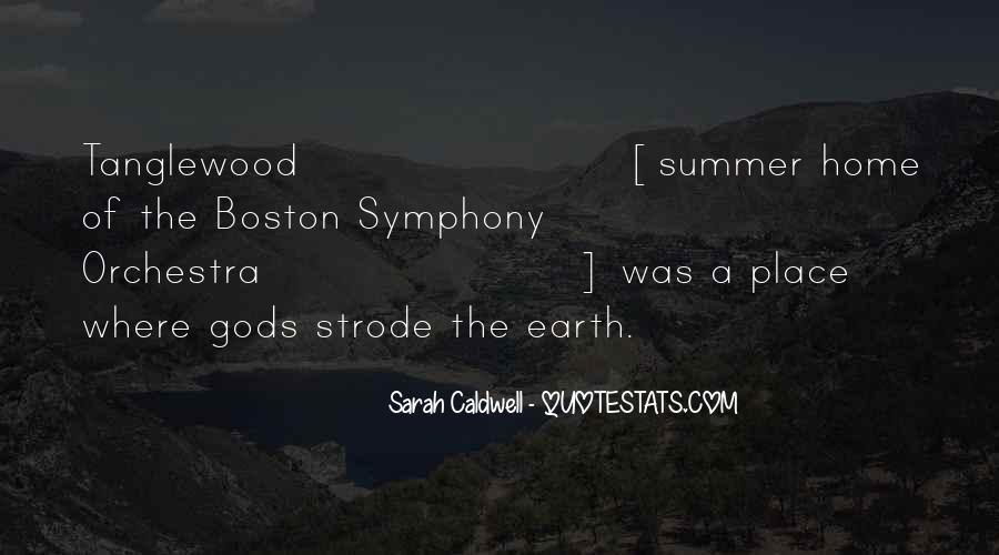 Sarah Caldwell Quotes #584612