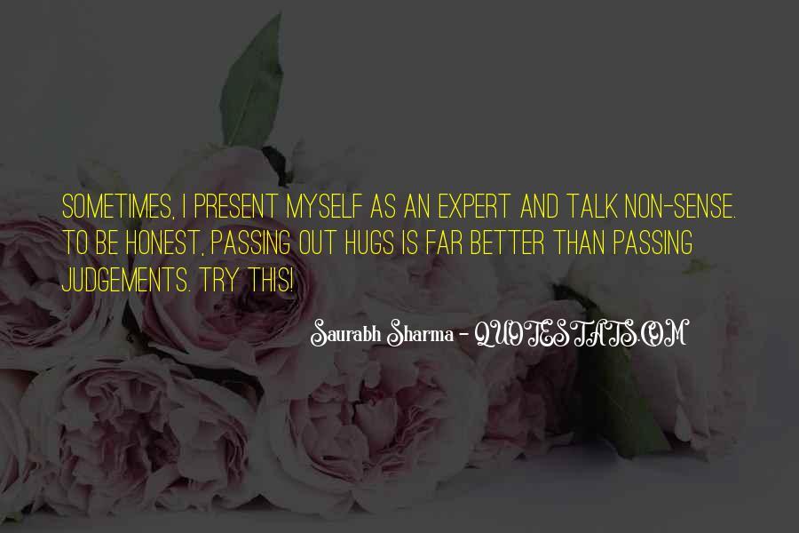 Saurabh Sharma Quotes #1353900