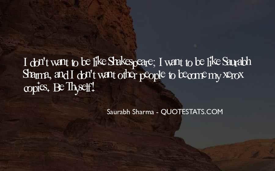 Saurabh Sharma Quotes #195863