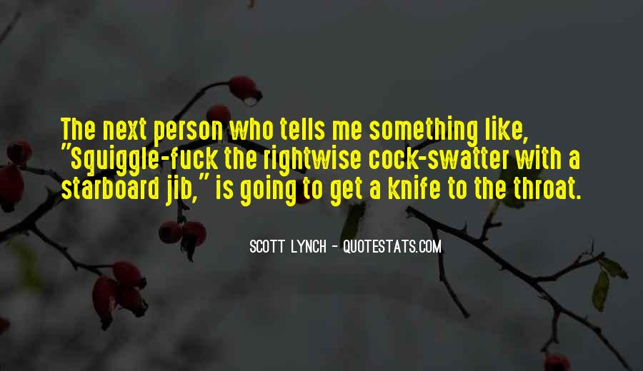Scott Lynch Quotes #218416