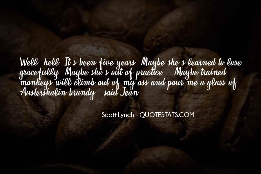 Scott Lynch Quotes #306323