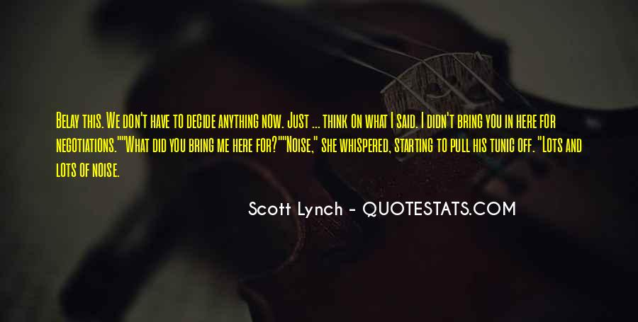 Scott Lynch Quotes #345804