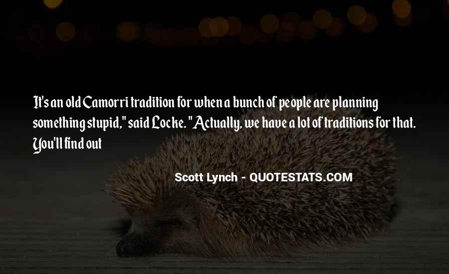 Scott Lynch Quotes #378965
