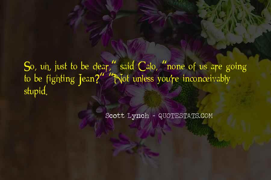 Scott Lynch Quotes #413098