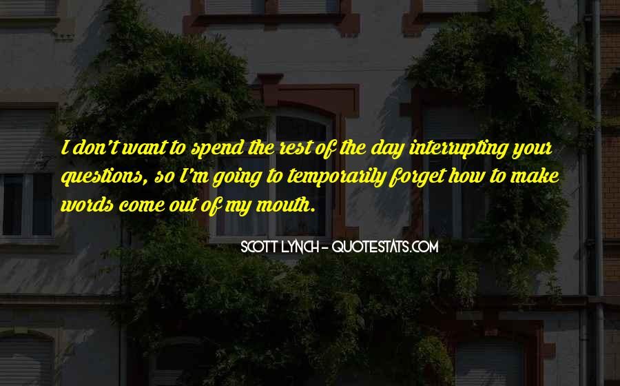 Scott Lynch Quotes #428932