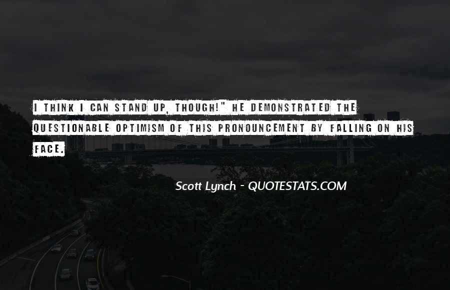 Scott Lynch Quotes #507575