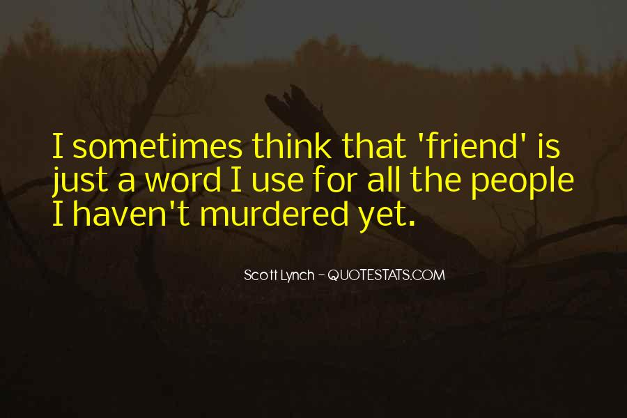 Scott Lynch Quotes #520418