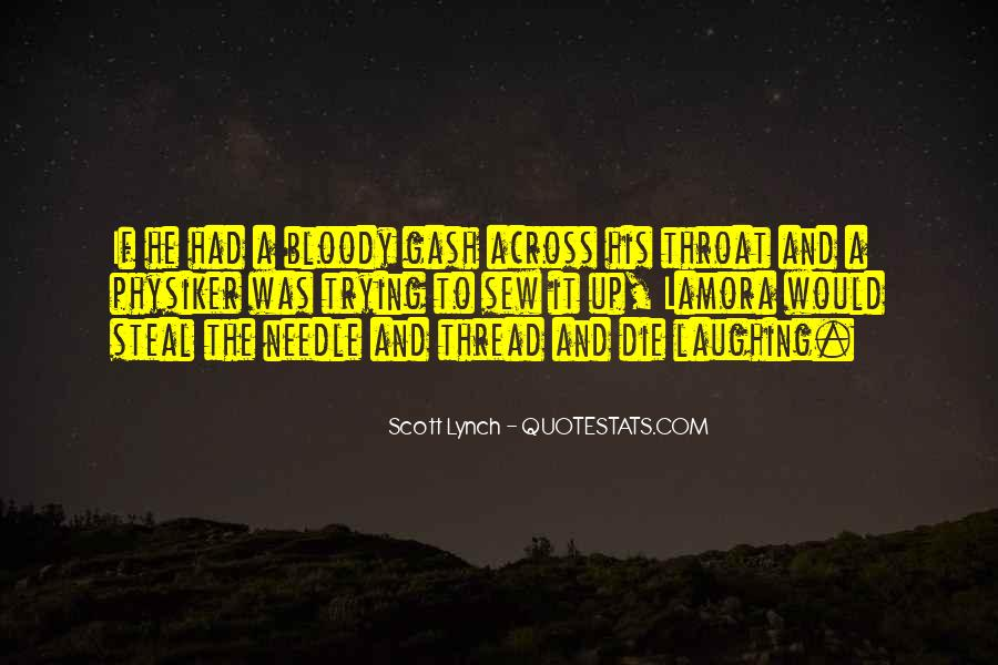 Scott Lynch Quotes #77308
