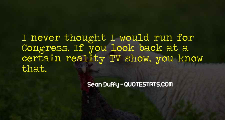 Sean Duffy Quotes #1017999