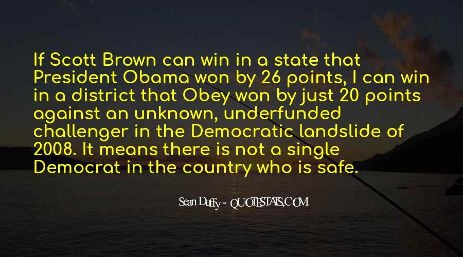 Sean Duffy Quotes #1261185