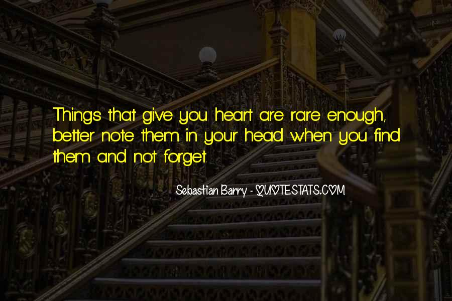 Sebastian Barry Quotes #1123731