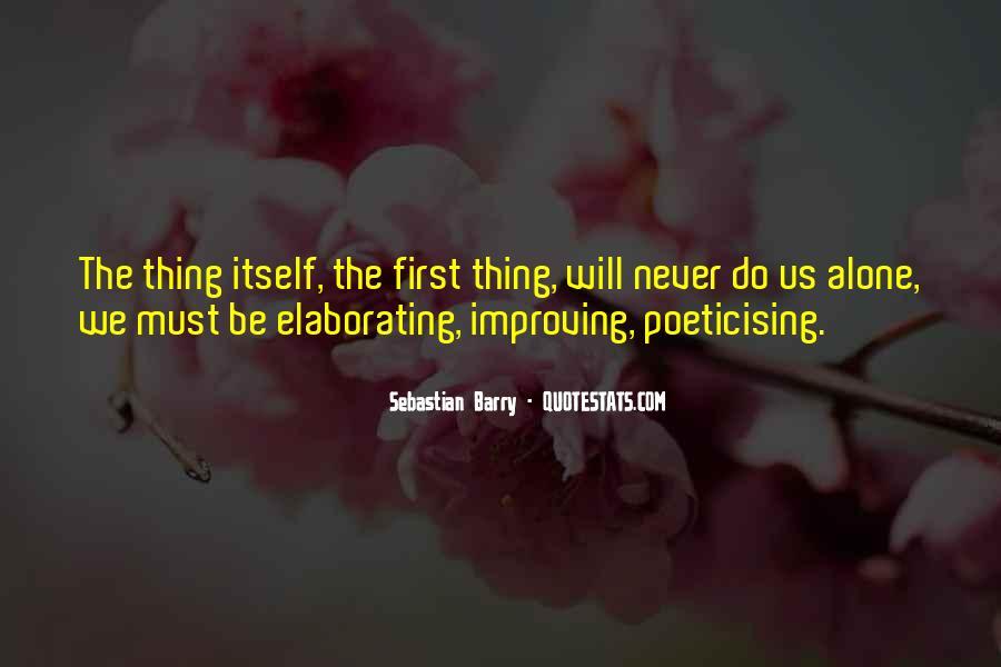 Sebastian Barry Quotes #1263925