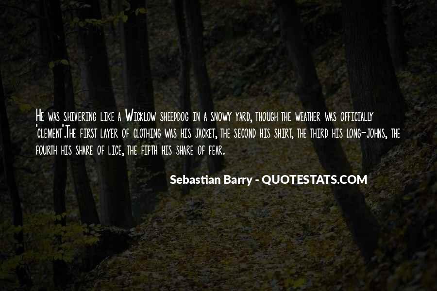 Sebastian Barry Quotes #1476738