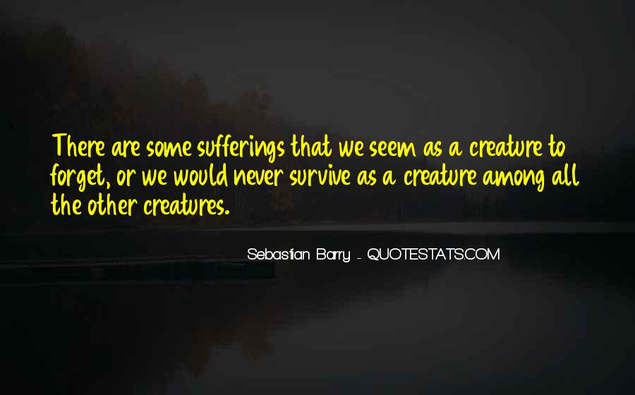 Sebastian Barry Quotes #149273