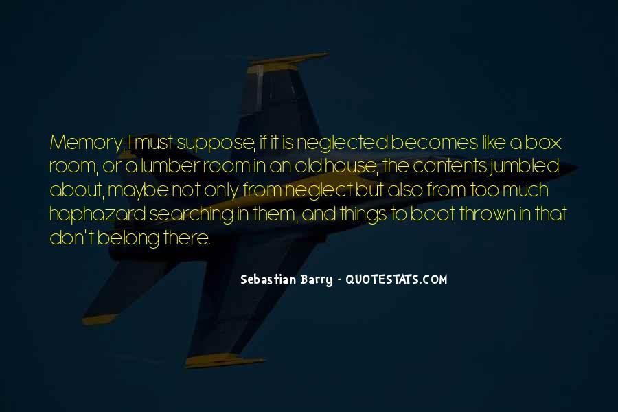 Sebastian Barry Quotes #284629