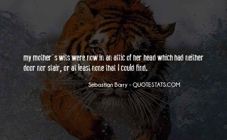 Sebastian Barry Quotes #293546