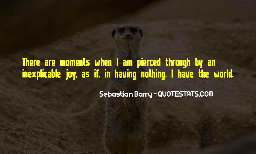 Sebastian Barry Quotes #664265