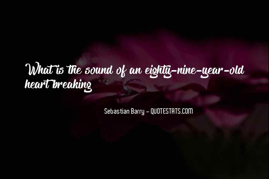 Sebastian Barry Quotes #934404