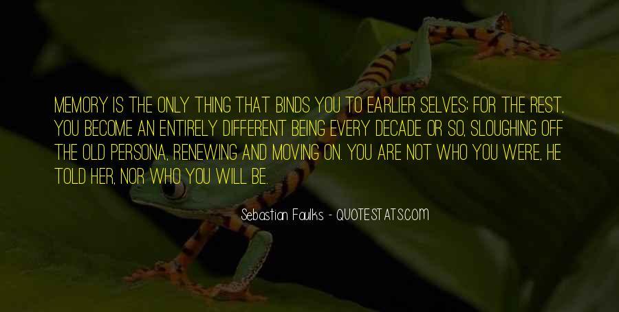 Sebastian Faulks Quotes #1388035