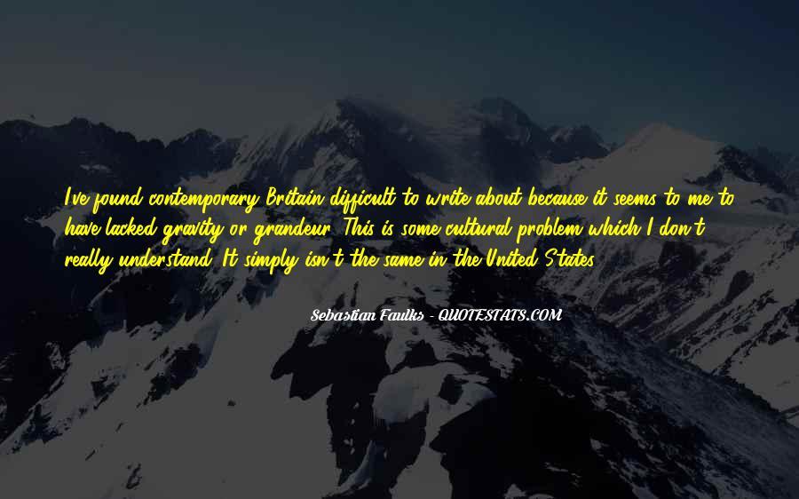 Sebastian Faulks Quotes #159935