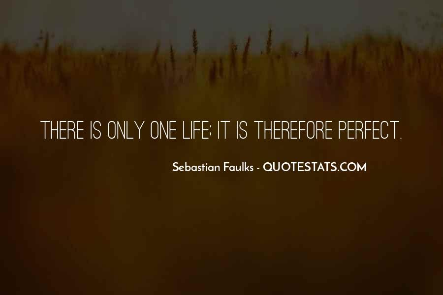 Sebastian Faulks Quotes #521170