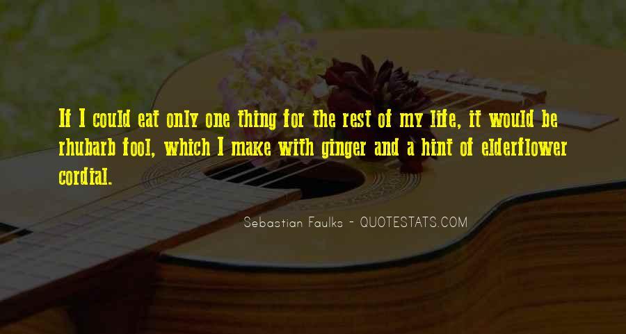 Sebastian Faulks Quotes #5253