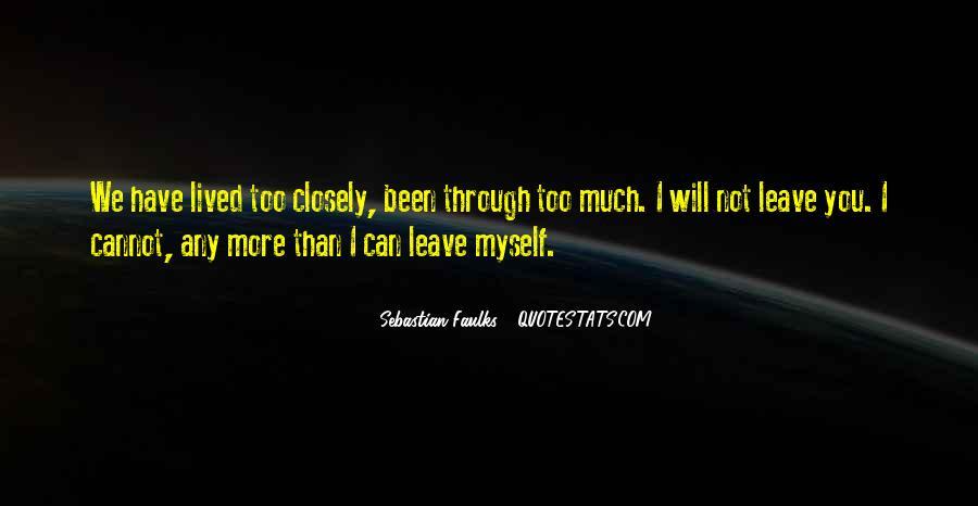 Sebastian Faulks Quotes #625155